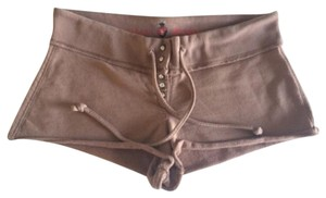 Twisted Heart Mini/Short Shorts Brown