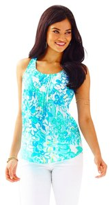 Lilly Pulitzer Top Resort White in a Pinch