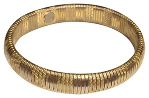 Napier Napier Gold Tone Bangle Bracelet