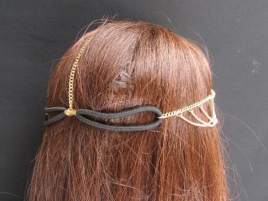 Other Women Gold Head Chain Jewelry Grecian Circlet Front Beads