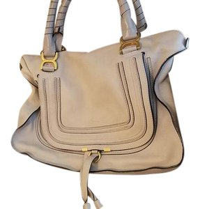 Chloé Marcie Hobo Chloe Satchel in Abstract White