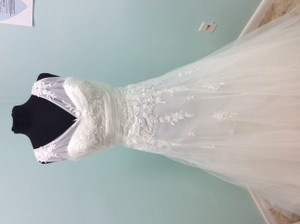 Alfred Angelo Alfred Angelo Sz. 12 With Tags Wedding Dress