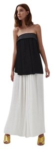 Finders Keepers Modern Flowy Strapless Top black