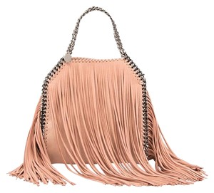Stella McCartney Fringe Mini Tote in Pink