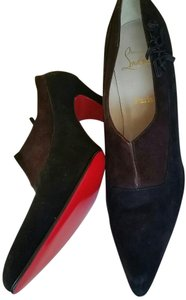 Christian Louboutin Red Bottoms Vintage Black suede Pumps