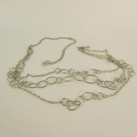 Other Women Multi Strands Silver Metal Chains Links Fashion Hip Belt