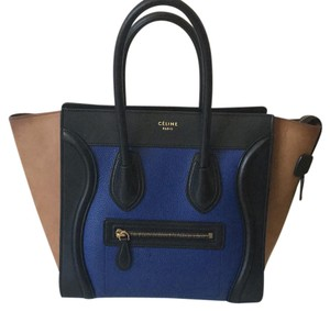 Céline Tote in Blue Brown