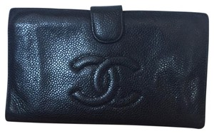 Chanel Chanel Caviar French Purse Wallet