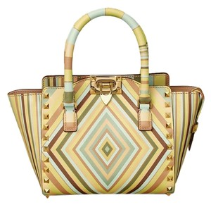 Valentino Garavani Rockstud Mini Stud Tote in multi-colored