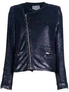 IRO Sequin Distressed Military Jacket