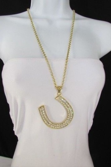Preload https://item4.tradesy.com/images/women-necklace-fashion-metal-chains-horseshoe-pendant-gold-silver-30-long-1931678-0-0.jpg?width=440&height=440