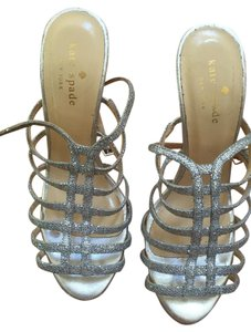 Kate Spade Sparkly Sparkle Fun Exciting Silver Formal
