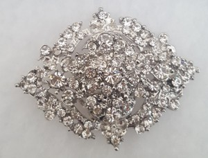 Vintage Rhinestone Brooch And/or Pendant