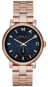 Marc by Marc Jacobs Baker Rose Gold-Tone Stainless Steel Bracelet Watch 36mm MBM3330