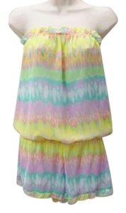 Victoria's Secret Pastel Romper Cover-up