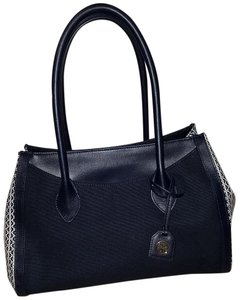 Tory Burch New Without Tags Perfect Tote in Navy blue and white