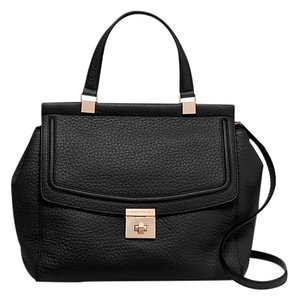 Kate Spade Leather Satcheal Business Satchel in Black