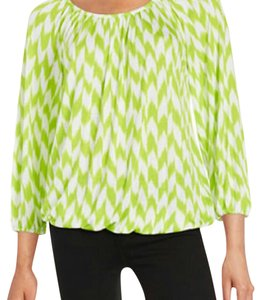 Michael Kors Top Green & White