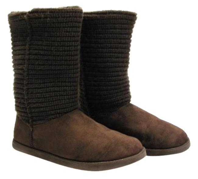 Item - Brown M (Usa) Knit Upper Very Good Condition Boots/Booties Size US 11 Regular (M, B)