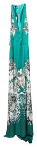 Roberto Cavalli Woven Long/highlow Dress