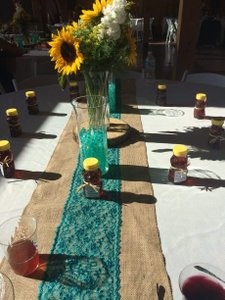 Rustic Handmade Table Runners