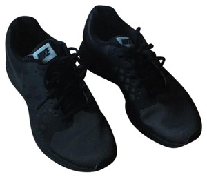 Nike Black with black laces Athletic