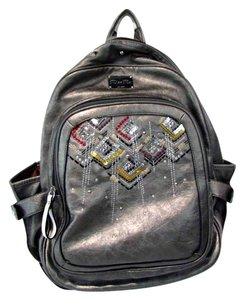 Miss Me Sequinned Studded Backpack