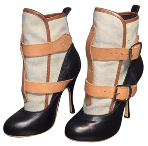Vivienne Westwood Off white/black/brown Boots
