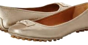 Coach Metallic Flats