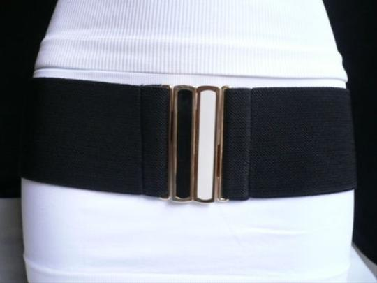 Preload https://item2.tradesy.com/images/other-women-belt-fashion-summer-black-hip-waist-black-white-gold-buckle-s-m-l-1932021-0-0.jpg?width=440&height=440
