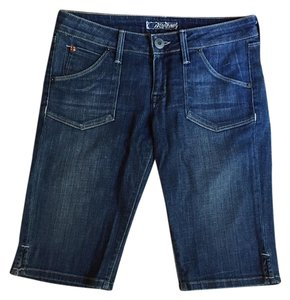 Hudson Jeans Shorts Denim Capris Blue