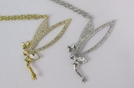 Other Women 28 Long Metal Chain Fashion Necklace Tikerbell Gold Silver