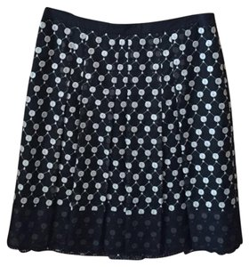 Ann Taylor Skirt Black and Beige