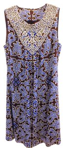 Tory Burch Knee Lenth Silk Dress