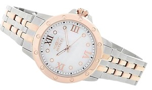Invicta Invicta Women's Angel Quartz Mother of Pearl Stainless Steel