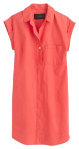 J.Crew short dress Coral Sold Out New With Tags Classic on Tradesy