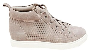 Steve Madden Hightop Sneakers Latte Taupe Athletic