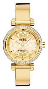 Coach Coach Women's 1941 Sport Gold-tone Stainless Steel Bangle Bracelet