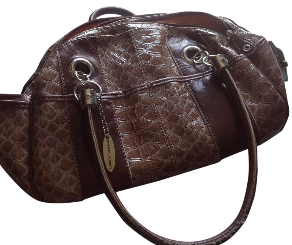 Chinese Laundry Purse Great Details Like New Tote In Browns And Tans