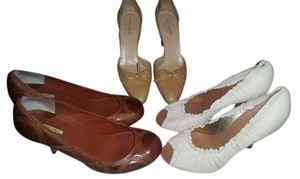 3 PAIR of SHOES $45 ALL Multi Pumps