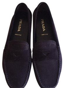 Prada Chocolate Brown Flats