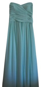 Watters & Weddington.com Bridesmaid Mint Color Chiffon Dress