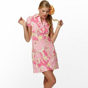 Lilly Pulitzer short dress pink Cotton on Tradesy
