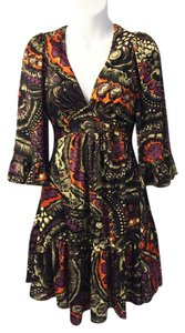 Betsey Johnson short dress Multi-color Kimono Retro Boho Babydoll on Tradesy