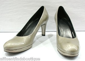 Stuart Weitzman Patent 10n Grays Pumps