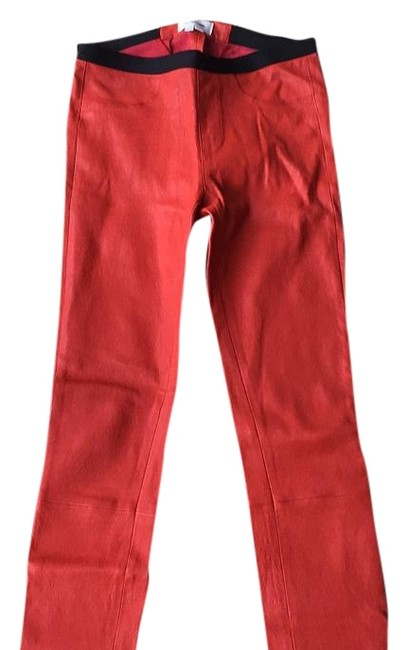 Item - Red Jeggings Size 26 (2, XS)