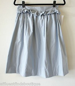 Marni Light Puffy Skirt Blue