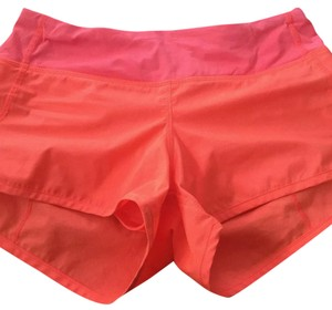 Lululemon Bright orange Shorts