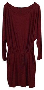 krisa short dress Burgandy on Tradesy