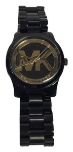 Michael Kors Women's Runway Black IP Stainless Steel Watch MK6057
